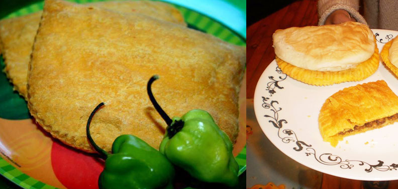 Delicious Variety of Jamaican patties